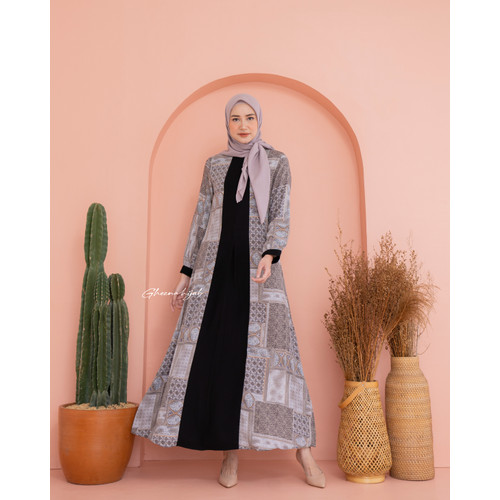 Foto Produk Grey - Raya Series by Gheena - S dari Gheena Hijab