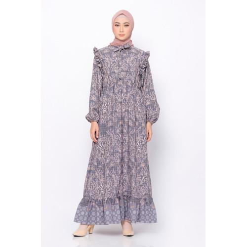 Foto Produk BIA X Cut Meyriska - Pahat Charcoal Dress Islamic Journey In Istanbul - S dari Zaskia Mecca Official