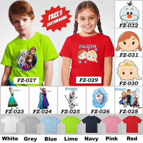 Foto Produk Kaos / Baju Anak Frozen dari Little Orca