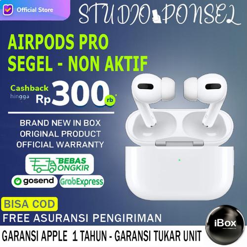 Foto Produk APPLE AIRPODS PRO WITH WIRELESS CHARGING ORIGINAL AIRPOD SUP IPHONE 12 - NEW BNIB, RESMI INTER dari Studio Ponsel