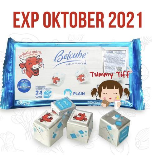 Foto Produk Belcube plain Cheese Spread MPASI 125gr / Keju Belcube / Belcube Chees dari Tummytiff