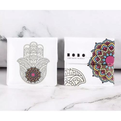 Foto Produk Dompet Asbak/Portable Pocket Wallet Ashtray Fireproof Style - Style 1 dari Marbri