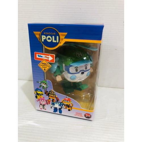 Foto Produk PROMO Terusjayatoys mainan robocar poli / mainan robot jadi mobil - heli dari Terus Jaya Toys