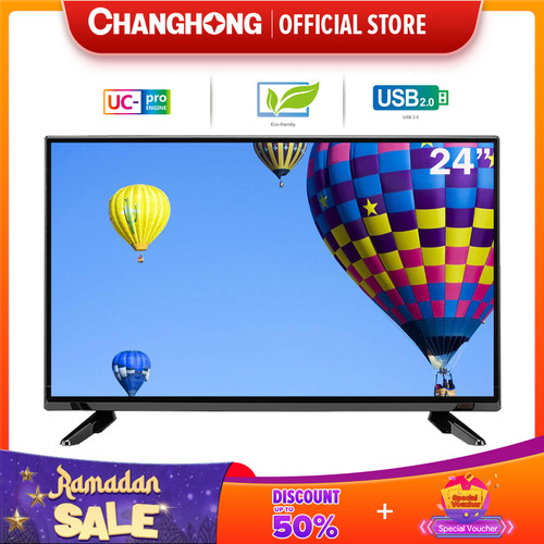 Foto Produk 24 Inch LED TV changhong 24G3 HD TV-HDMI-USB Moive-L24G3 dari Changhong Official