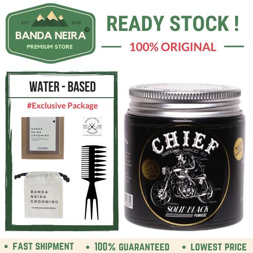 Foto Produk Chief Solid Black Original Lokal Murah Pomade dari Banda Neira Store