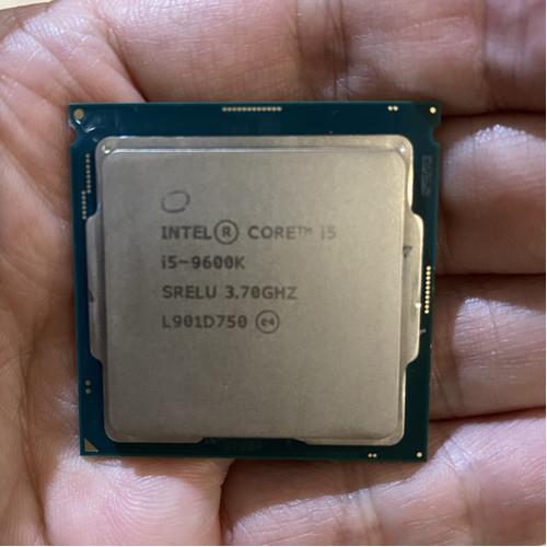 Foto Produk PROCESSOR INTEL CORE I5 9600K LGA 1151 dari iconcomp
