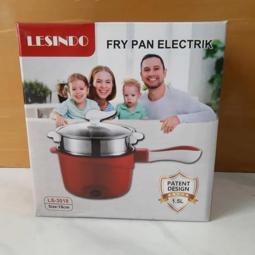Foto Produk Panci Elektrik Kukus+Goreng Alat Masak Electric Frying Multifungsi dari BerjuangTeruss