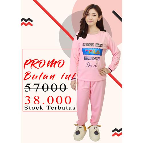 Foto Produk Baju Tidur Wanita / Piyama Wanita / Setelan Piyama Fila PP / Pajamas dari Super Collection