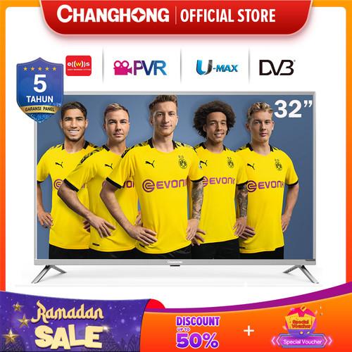 Foto Produk 32 Inch LED Digital TV changhong TV 32H1 HD TV-HDMI-USB Moive-L32H1 dari Changhong Official