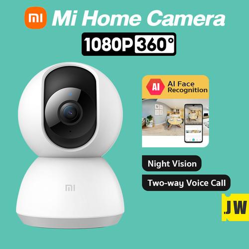 Foto Produk Xiaomi Mi Home Smart Security Camera SE 1080p IP Cam 360° CCTV Xiaomi - Mi Cam 1080P, Camera Only dari vinkovinko