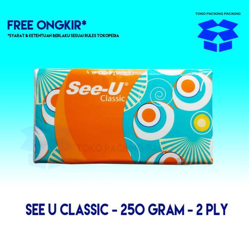 Foto Produk SEE-U Tissue Facial Classic - 250s dari Packing Packing