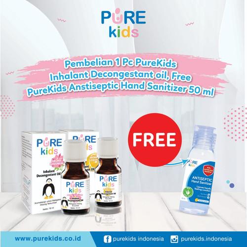 Foto Produk Purekids Pure Kids Inhalant Decongestant Oil Obat Hidung Tersumbat - Original dari toku pedia