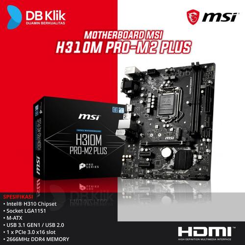 Foto Produk Motherboard MSI H310M PRO-M2 PLUS dari DBklik Yogya