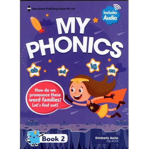 Foto Produk My Phonics Book 1-5 - Book 2 dari Little Bookworm