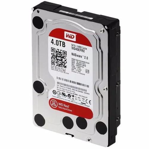 Foto Produk Harddisk WD Red 4TB SATA 3.5 inch HDD WDC Hardisk 4 TB NAS Hard Drive dari PojokITcom Pusat IT Comp