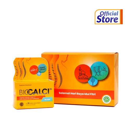 Foto Produk Paket Special Idul Fitri Biocalci berisi 2 botol Biocalci @ 30 tablet dari Konimex Store