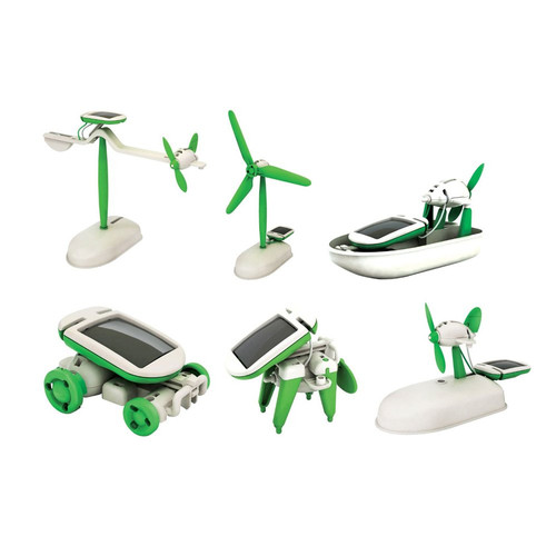 Foto Produk DIY Robot Solar Kits 6-in-1 Merakit Robot Mainan Edukasi Anak Laki dari Grandia Shop