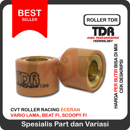 Foto Produk Roller TDR Vario Beat-Fi Scoopy-Fi Spacy-Fi 7gr 8gr 9gr 10gr (eceran) dari Ledeng Motor Bandung