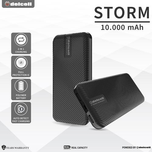 Foto Produk Delcell STORM 10000mAh Real Capacity Powerbank Slim dari DelCell
