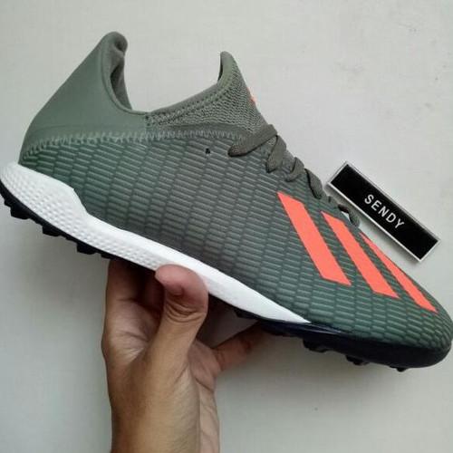 Foto Produk Adidas X 19.3 TF EF8366 Green Sepatu Futsal Turf Rumput Sintetis dari ricko-