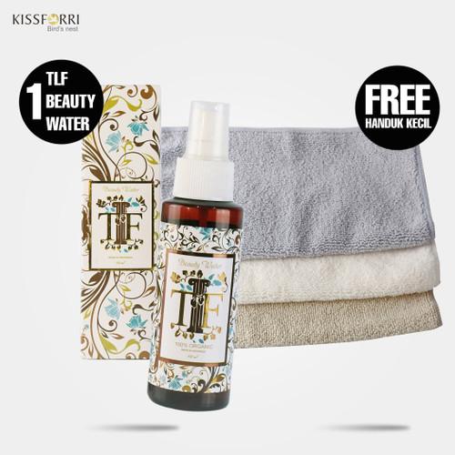 Foto Produk Fantastis Bonus 1 pcs TLF Beauty Water FREE 1 pcs Handuk Mini dari Kissforri Official