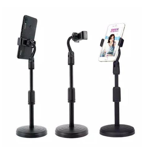 Foto Produk Microphone Stands Live Zoom Tripod Handphone all tipe Holder Tik tok dari PojokITcom Pusat IT Comp