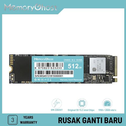 Foto Produk Memory Ghost SSD PCIe NVMe 128 GB dari Memory Ghost Official