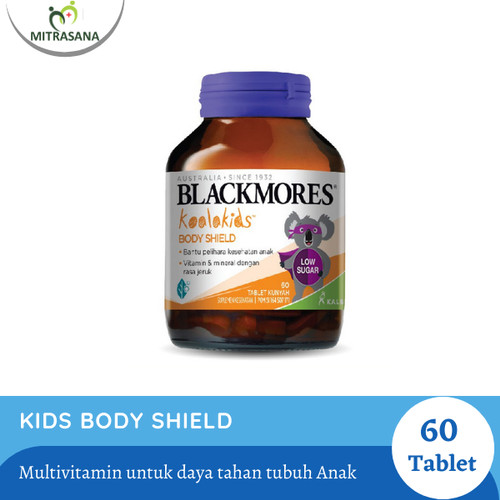 Foto Produk BLACKMORES KIDS BODY SHIELD (60) BPOM KALBE dari Mitrasana