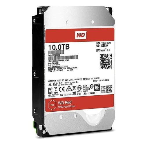 Foto Produk Harddisk WD Red 10TB SATA 3.5inch HDD WDC Hardisk 10 TB NAS Hard Drive dari PojokITcom Pusat IT Comp