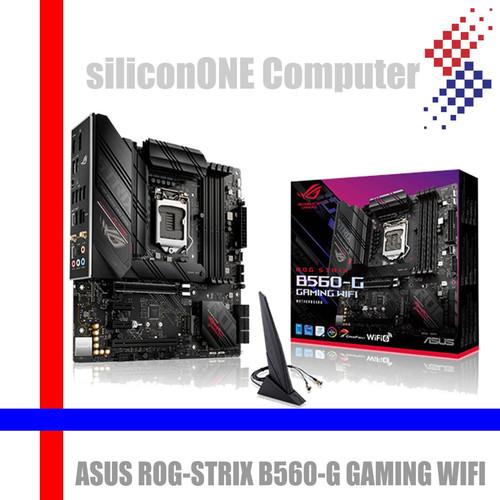 Foto Produk ASUS ROG STRIX B560-G GAMING WIFI B560 B560G dari silicon ONE Computer