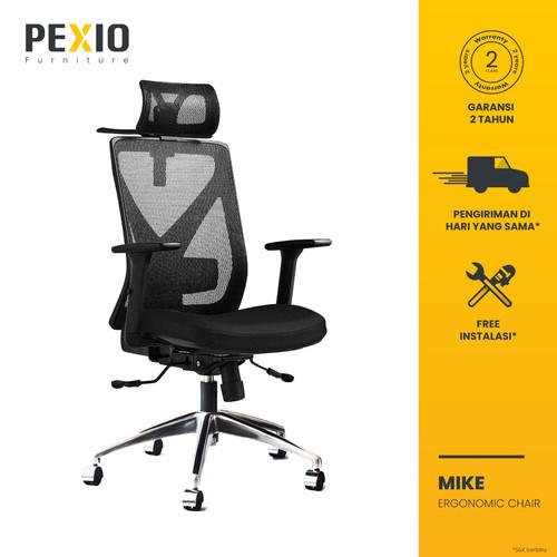 Foto Produk Kursi Kantor Jaring PEXIO | Kursi Kerja Jaring PEXIO | Mike dari PEXIO
