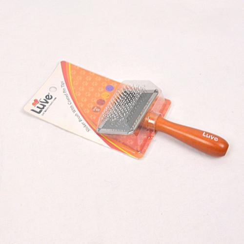 Foto Produk Sisir Sikat LUVE Slicker Brush with Coated Pin - S dari Pet Republic