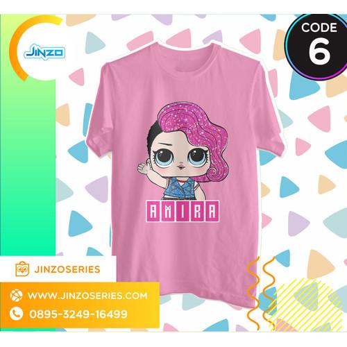 Foto Produk Kaos Anak LOL Surprise 6 Gowoon Nama - Hitam, 2 dari Jinzo Series