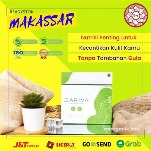 Foto Produk Cariva Collagen Asli Ori Pemutih Kulit Suplemen Kecantikan Antioksidan dari Rai Organik Online