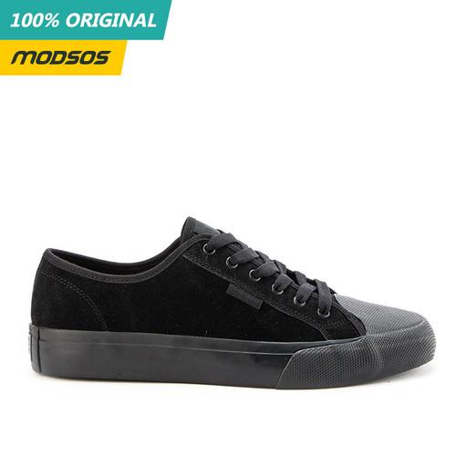Foto Produk Sepatu Pria DC Manual Sneakers Mono Black Original dari Modsos