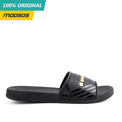 Foto Produk Sandal Pria Diadora Slide Biago Black Original dari Modsos
