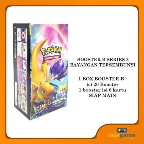 Foto Produk Pokemon TCG Booster Box 3B - Original (20 Booster isi 120 Kartu) as3b dari Rajagame Indonesia