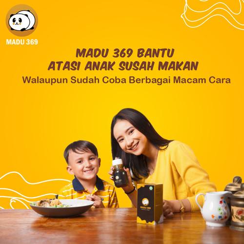 Foto Produk Madu 369 Spesialis Anak Susah Makan_ Madu Gemuk Anak_ Nafsu Makan dari Berkah Selamat Makmur