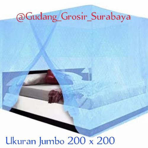 Foto Produk kelambu nyamuk 200x200 termurah - Putih dari GudangGrosir_Surabaya