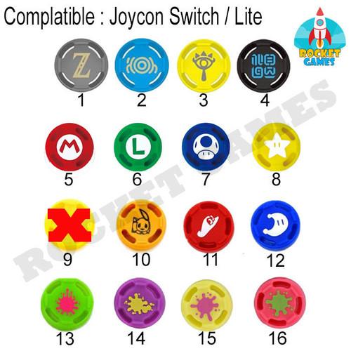 Foto Produk Nintendo Switch Joycon Thumb Grip / Analog Joycon / Silikon Cap Joycon dari Rocket games