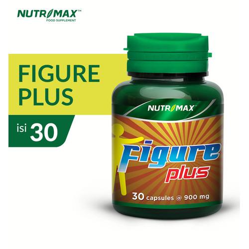 Foto Produk NUTRIMAX FIGURE PLUS ISI 30 NATURECAPS dari Nutrimax Official Store