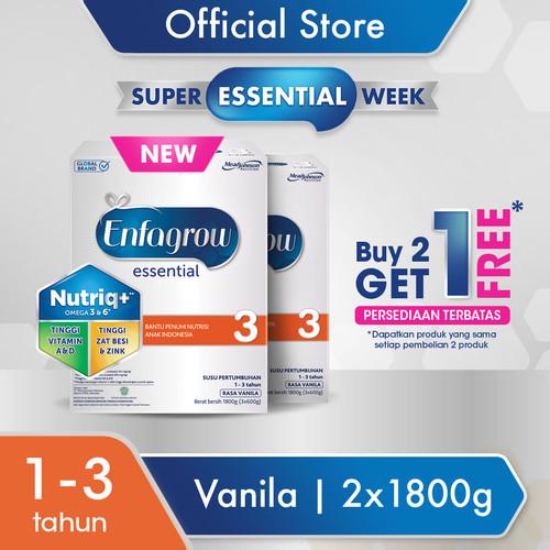 Foto Produk Enfagrow Essential 3 1800g [BUY 2 GET 1] dari Enfa A+ Official Store