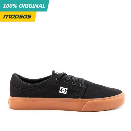 Foto Produk Sepatu Sneakers Pria DC Trase Tx Black Gum Original dari Modsos