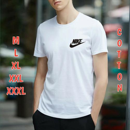 Foto Produk Kaos Pria Lengan Pendek Nike Kaos Oblong Pria Baju Oblong Pria Tshirt - tosca, M dari Kencana Shop92