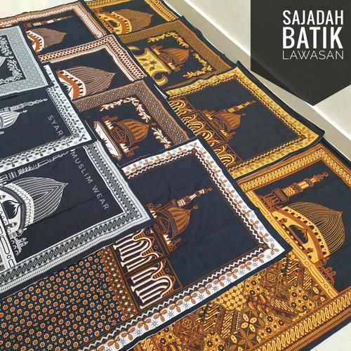Foto Produk Sajadah Batik Halus - Motif Lawasan | Ukuran Standar dari Syarief Muslim Wear