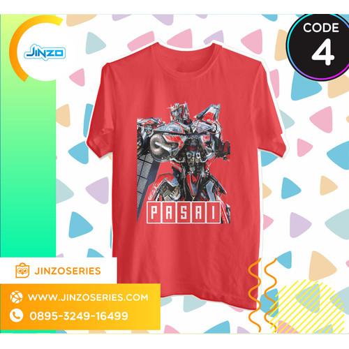 Foto Produk Kaos Anak Transformers 4 Sentinel Prime Nama - Hitam, 2 dari Jinzo Series