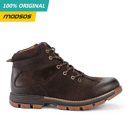 Foto Produk Sepatu Boots Pria Jim Joker Salt 1B Coffe Original dari Modsos