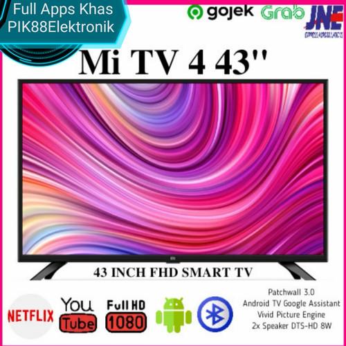 Foto Produk Xiaomi TV LED 4A 43 International Version Full Apps Khas PIK88 dari PIK88Elektronik