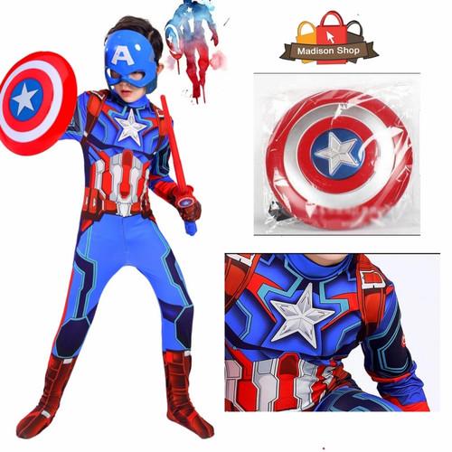 Foto Produk Kostum Captain America Anak Kostum Superhero Costume Haloween Party - M dari MadisonShop