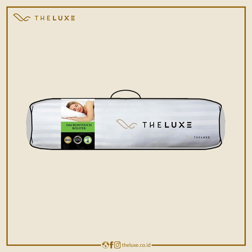 Foto Produk Guling Hotel The Luxe Bolster Premium Dacron Touch dari The Luxe